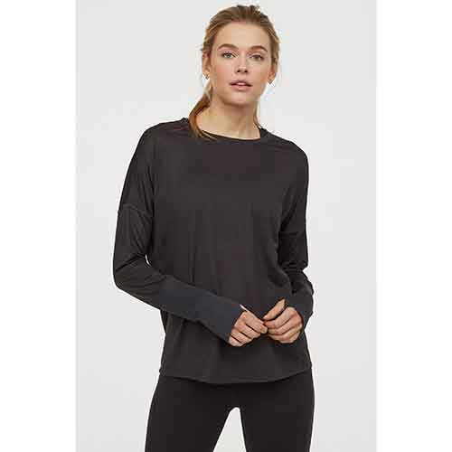Conscious Long-Sleeved Sports Top