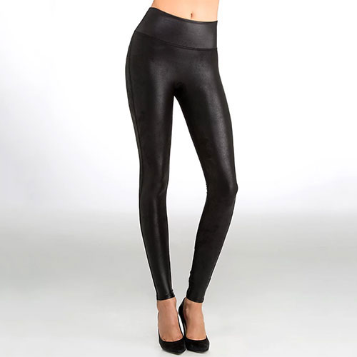 Spanx Ready-To-Wow Faux Leather Leggings
