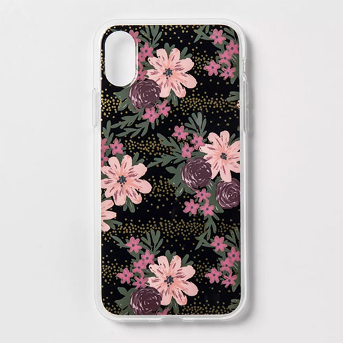 Heyday Apple iPhone X Printed Floral Case