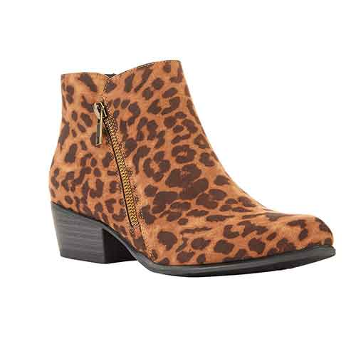 Portland Boot Company Leopard Bootie