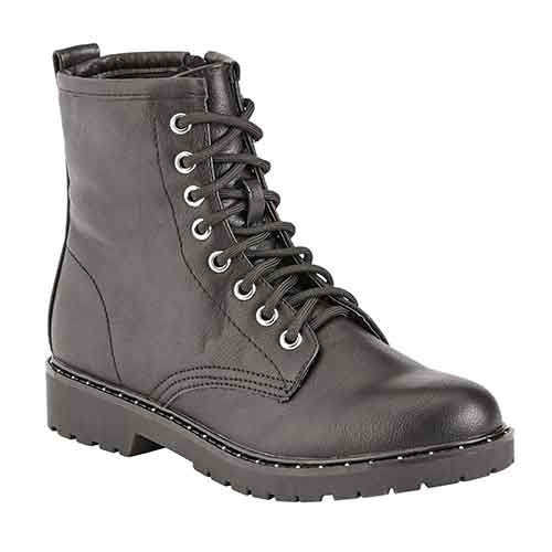 Portland Boot Company Side Studded Combat Boot