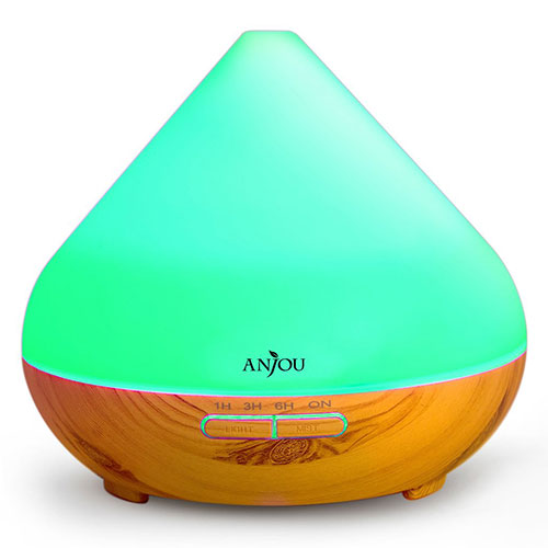 Anjou Essential Oil Diffuser Ultrasonic Cool Mist Humidifier