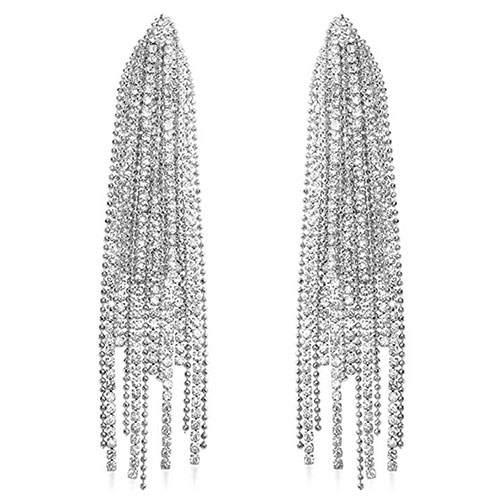 Humble Chic Simulated Diamond Earrings