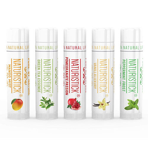 Naturistick All-Natural Lip Balm Set