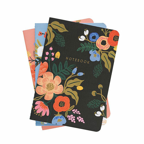 Plus Rifle Paper Co. Lively Floral Notebooks