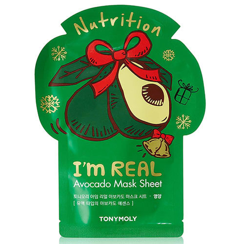 TonyMoly I'm Real Hydrating Avocado Mask Sheet