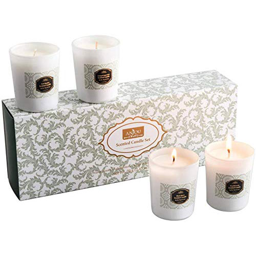 Anjou Scented Candle 4 Pack Gift Set