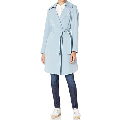 Vince Camuto Belted Trench Coat