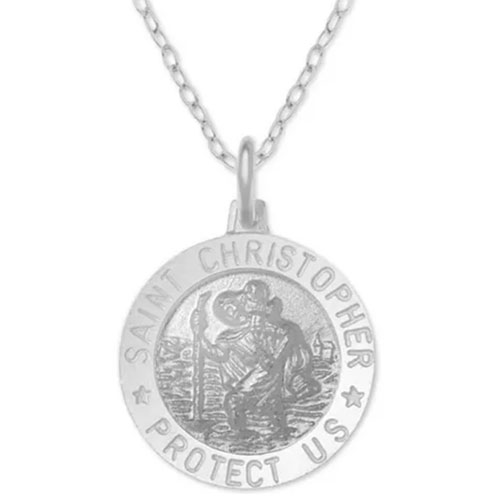 St Christopher Medallion 18