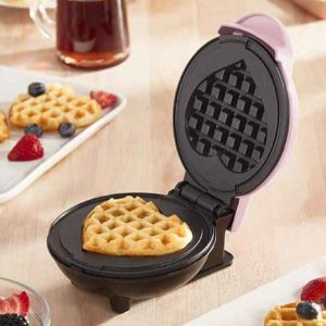 This Heart-Shaped Waffle Maker Is Perfect for Valentine's Day — and It's Only $15