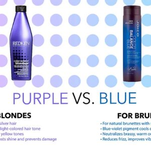 Is There a Difference Between Purple and Blue Shampoo?