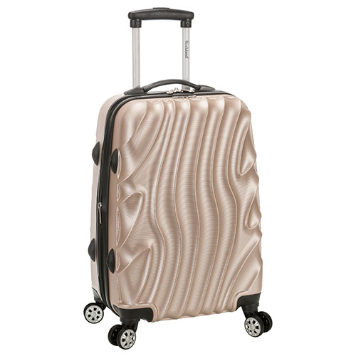 "Rockland Melbourne 20"" Hardwide Expandable Carry On Luggage"