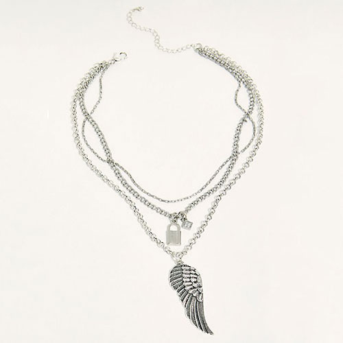 Free People Layer Up Charm Necklace
