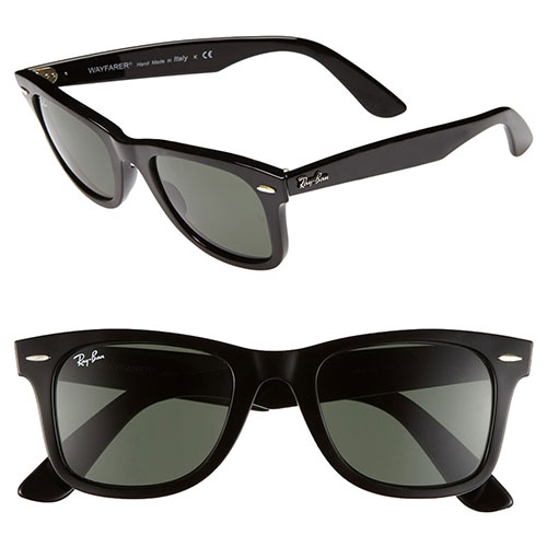 "Ray-Ban ""Classic Wayfarer"" 50mm Sunglasses"
