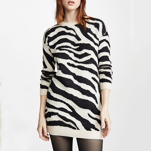 BB Dakota Life Is Wild Sweater Dress