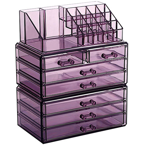 Ikee Design Makeup and Jewelry Storage Case