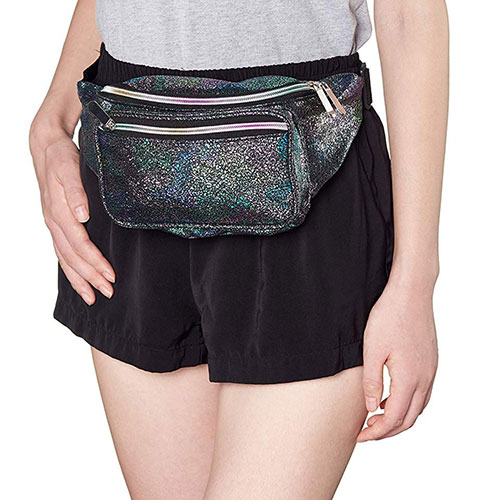 Holographic Multicolor Fanny Pack