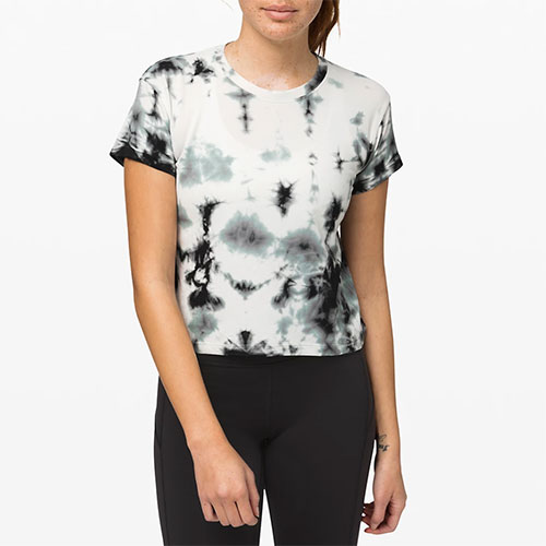 Lululemon Train To Be Short Sleeve Shibori