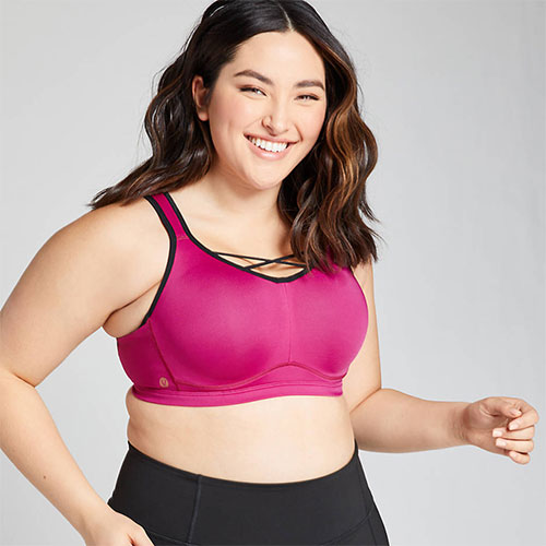 Livi Active High-Impact Underwire Sports Bra with Wicking