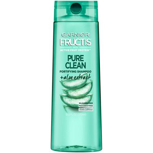 Garnier Fructis Pure Clean Fortifying Shampoo with Aloe and Vitamin E Extract