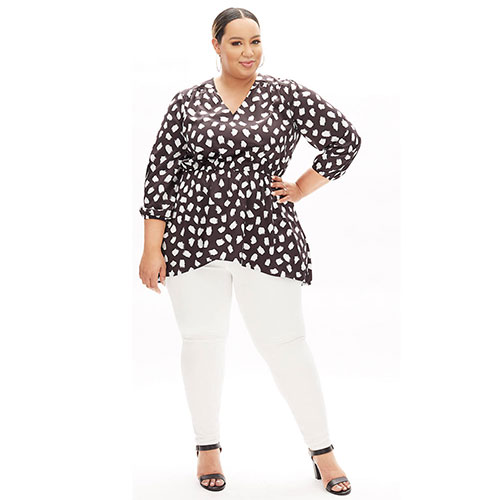 Beauticurve High-Low Tunic Top