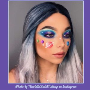 Planet Makeup Is the Out-of-This-World Trend You're About to See All Over Social Media
