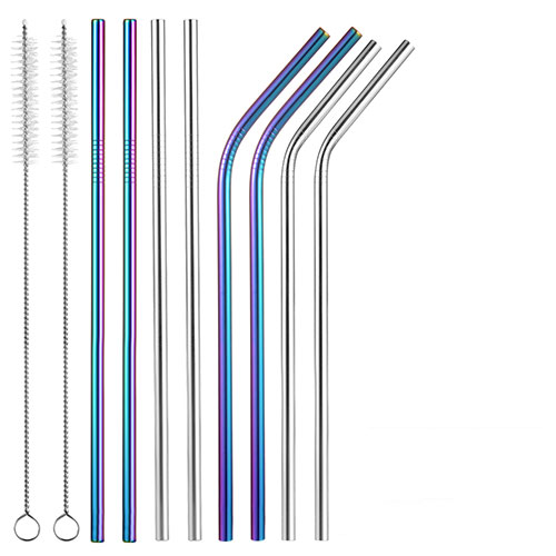 Uarter Stainless Steel Reusable Drinking Straws