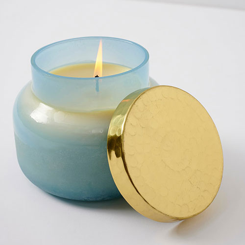 Anthropologie Home Salt & Sand Scented Candle