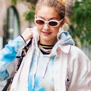 Jennifer Lopez, Gigi Hadid, and More Stylish Stars Can't Stop Wearing This Sweatshirt Trend