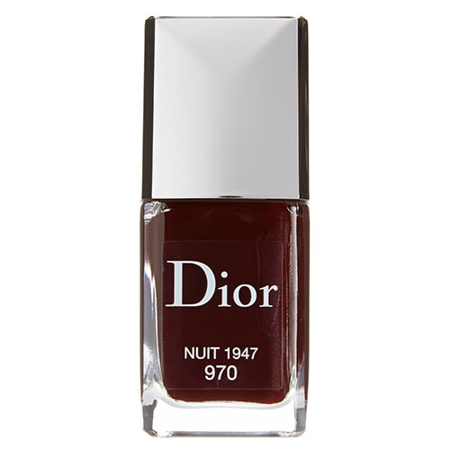 Dior Vernis Gel Shine & Long Wear Nail Lacquer in 970 Nuit 1947