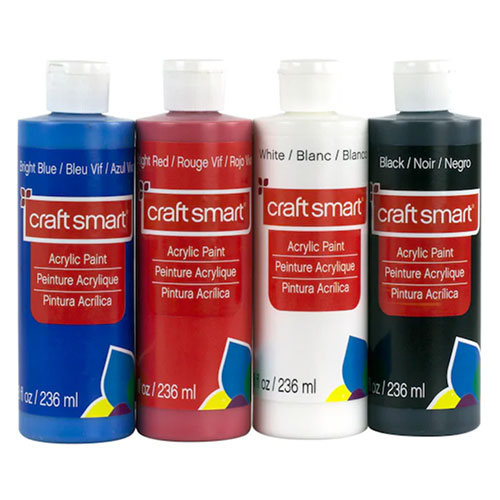 Primary Acrylic Paint Value Set by Craft Smart
