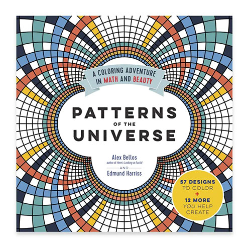 Workman Publishing Patterns of the Universe Adult Coloring Book