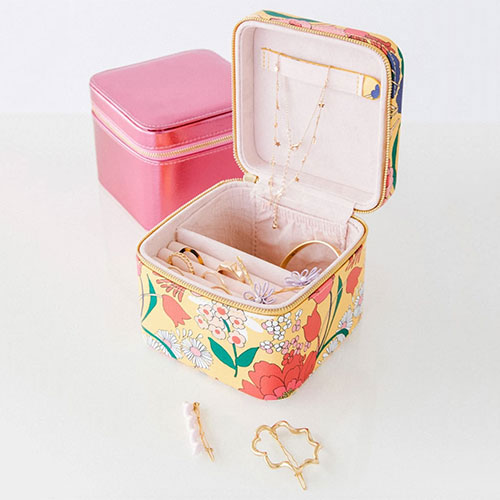 Getaway Jewelry Organizer in Sunshine Super Bloom