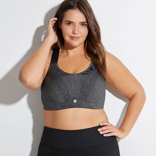 LIVI Active High-Impact Wicking Max Support Sports Bra