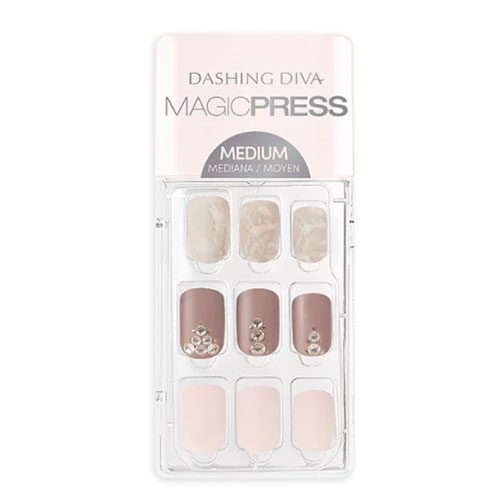 Dashing Diva Magic Press Blush Hour Press-On Gel Nails
