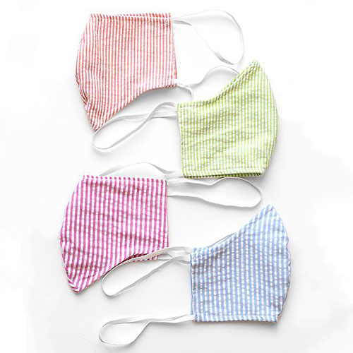 Amadi Striped Reusable Face Mask