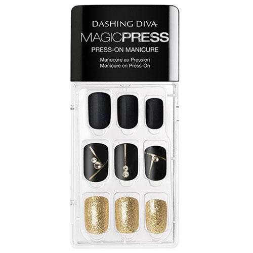 Dashing Diva Magic Press Gold Standard Press-On Gel Nails