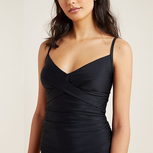 Anthropologie Tricia Criss-Cross Tankini