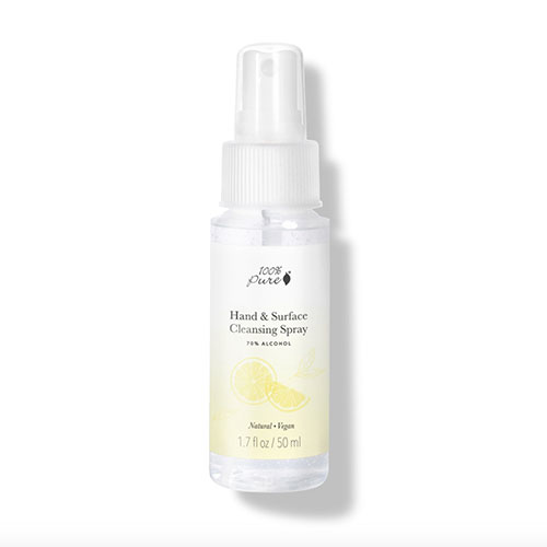 100% Pure Hand & Surface Cleansing Spray