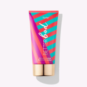 how to fix self-tanning disasters: tarte better bod bronzer contour