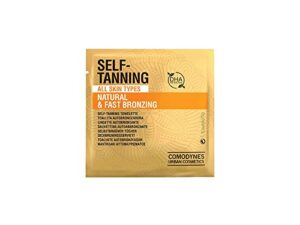 how to fix self-tanning disasters: amazon comodynes self tanning towelettes