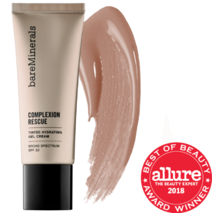 how to fix self-tanning disasters: sephora bareminerals complexion rescue tinted hydrating gel cream spf 30