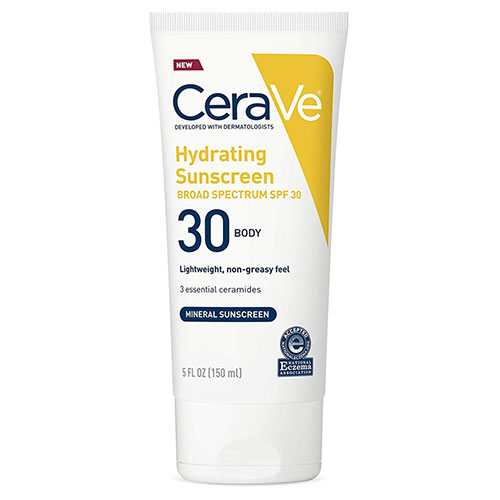 CeraVe 100% Hydrating Sunscreen