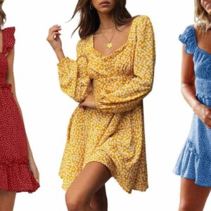 Shoppers Say This $27 Floral Mini Dress 'Fits Like a Dream'