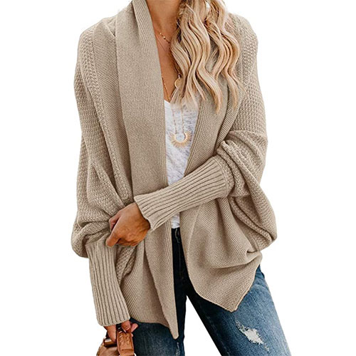 Imily Bela Women's Cable Knitted Cardigan