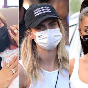 Hailey Bieber, Ariana Grande, and More Celebs Are Wearing This $2 Face Mask
