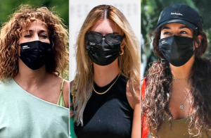 celebrities wearing evolvetogether face masks photo from people
