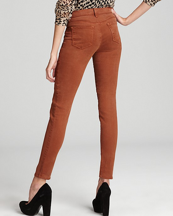 Fall's Hottest Colored Jeans