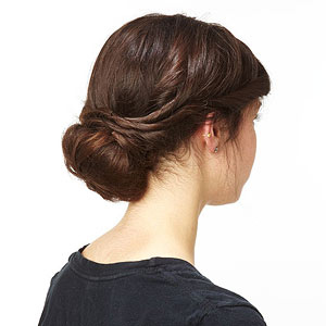 How To Do A Twisted Chignon
