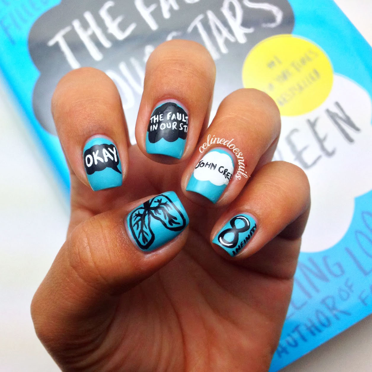 16 Book-Inspired Nail Art Designs